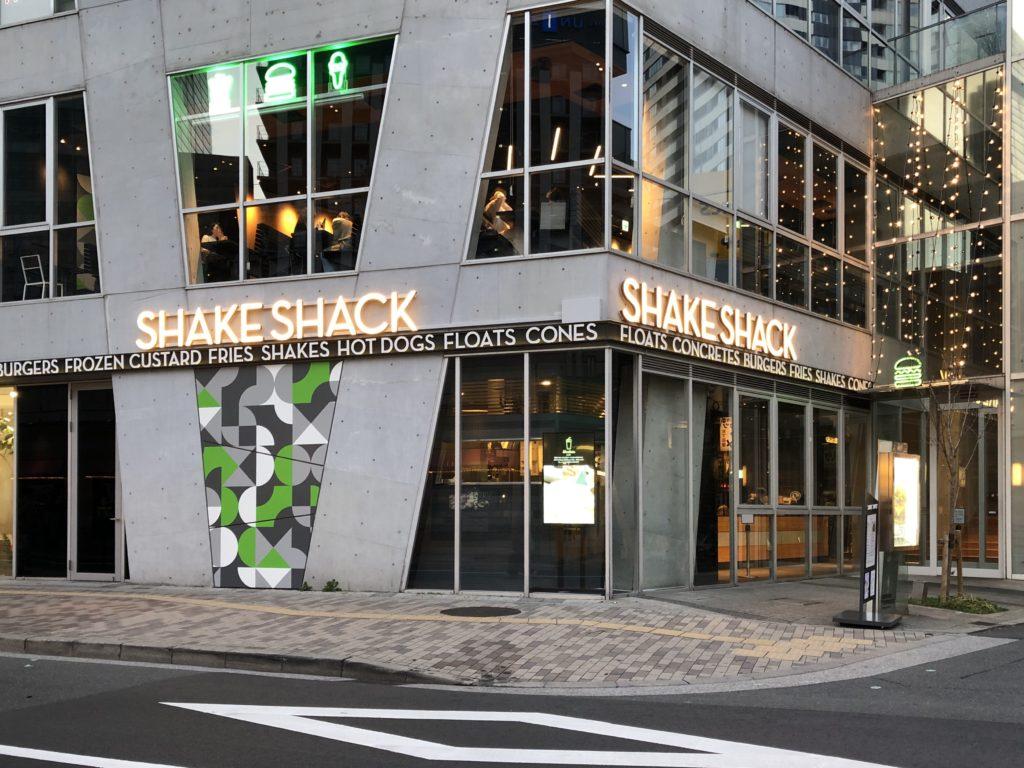シェイクシャックの店舗