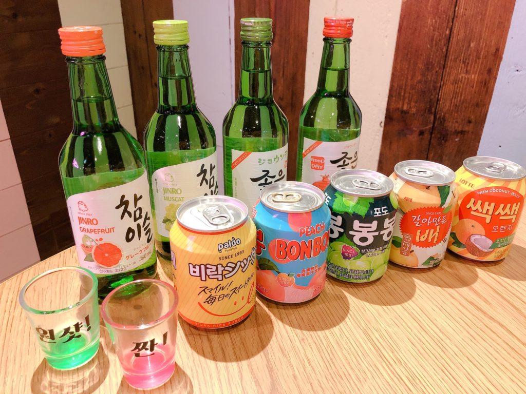 韓国酒、韓国ソフトドリンク